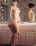 Sasha Alexander Naked Body Nice Tits 001