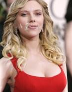Scarlett Johansson Cumshot Facial Naked 001