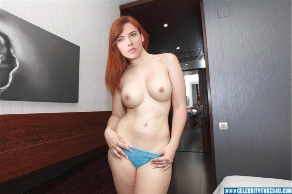 Scarlett Johansson Fake, Tits, Topless, Very Nice Tits, Porn