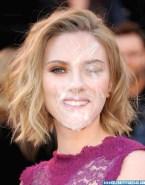 Scarlett Johansson Huge Cumload Facial 001