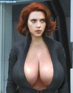 Scarlett Johansson Huge Tits The Avengers Porn 001