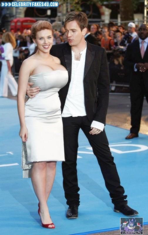 Scarlett Johansson Fake, Big Tits, Public, Tits, Porn