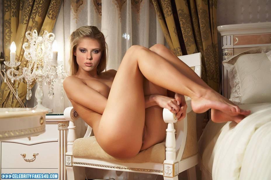 Scarlett Johansson Fake, Horny, Legs, Nude, Porn