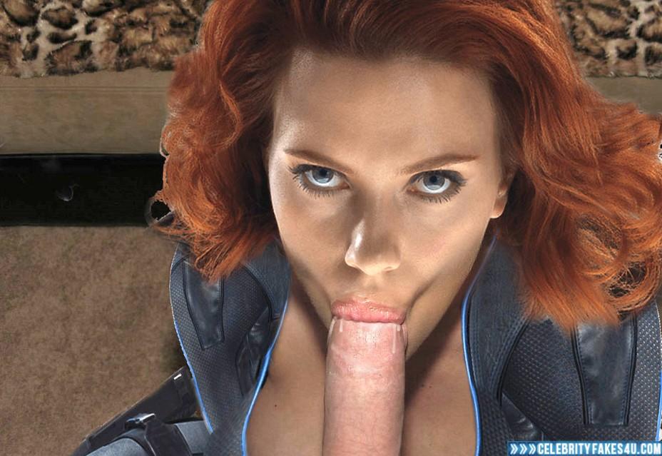 Scarlett johansson sucks cock