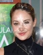 Shailene Woodley Cum Facial Porn Fake 001