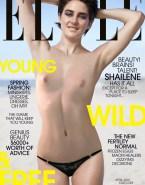 Shailene Woodley Magazine Cover Small Tits Fake 001