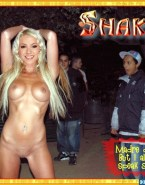 Shakira Public Boobs Naked Fake 002