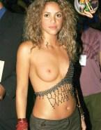 Shakira Public Tits Nsfw Fake 002