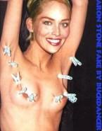 Sharon Stone Bdsm Nip Torture Naked 001