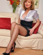 Sian Williams Hot Outfit Stockings Naked 001