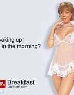 Sian Williams Lingerie Captioned Nude 001