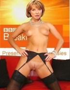 Sian Williams Small Tits No Underwear Nude 001