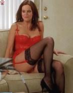 Sigourney Weaver Lingerie Stockings 001