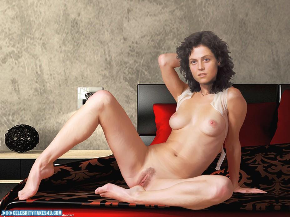 Naked sigourney weaver Sigourney Weaver: