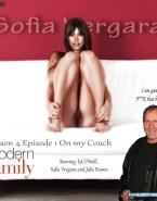 Sofia Vergara Modern Family Pantiless 001