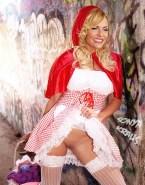 Sonya Kraus Costume Upskirt Nsfw 001