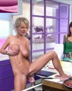 Sophie Davant Public Squeezing Tits Nsfw 001