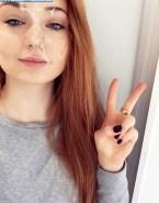 Sophie Turner Facial Cumshot Fake-006