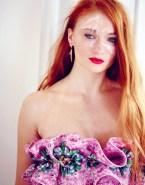 Sophie Turner Facial Cumshot Fake-007