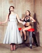 Sophie Turner Lesbian BDSM Fake-001