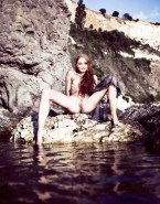 Sophie Turner as Sansa Stark Naked By the Waters of Westeros-001