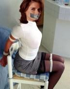 Stana Katic Stockings Bondage Fake 001