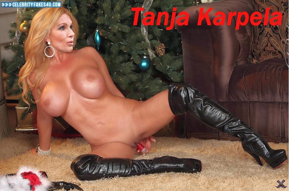 Tanja Karpela Fake, Sex Toy, Sexy Flat Stomach, Tits, Porn