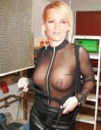Uma Thurman See Thru Pierced Nipples Porn 001