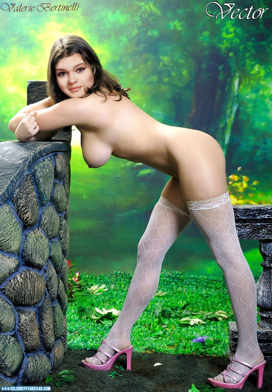 Valerie Bertinelli Naked Breasts Fake 001 -7229