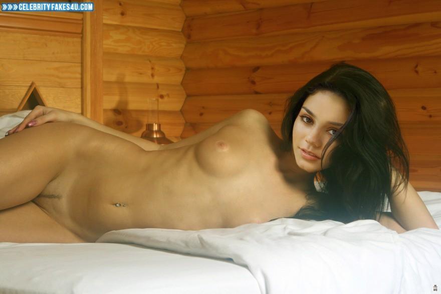 Vanessa Hudgens Fake, Horny, Naked Body, Nude, Tits, Porn