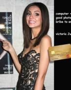Victoria Justice Captioned Magazine Cover Fake 001