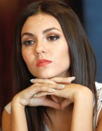 Victoria Justice Cumshot Facial Fake 002