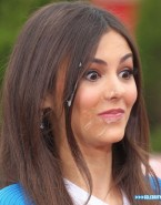 Victoria Justice Facial Outdoor Naked Fake 001
