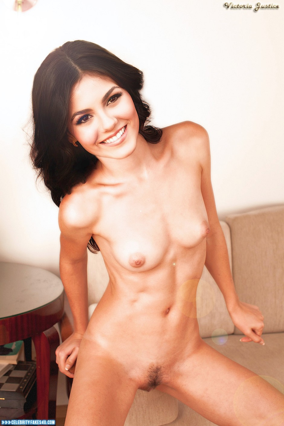 Victoria Justice Fake, Naked Body, Nude, Tits, Porn