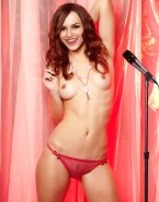 Victoria Justice Panties Horny Naked Fake 001