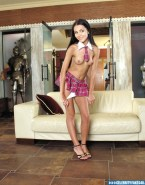 Victoria Justice Skirt Hot Outfit Fake 001