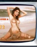 Winona Ryder Perfect Tits Beach Nsfw 001