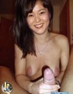 Yunjin Kim Handjob Hacked Naked Sex Fake 001