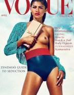 Zendaya Coleman Small Boobs Magazine Cover Naked 001