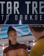 Zoe Saldana Large Tits Star Trek Naked 001