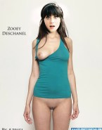 Zooey Deschanel Boobs Camel Toe Fake 004