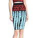 Wow Couture Printed Pencil Skirt