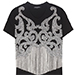 Balmain Embellished Cotton T-shirt