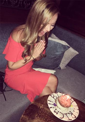 Nicole Lapin Instagram: Veronica Beard Oleta Off Shoulder Dress