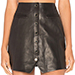 Rachel Zoe Danae Leather Skirt