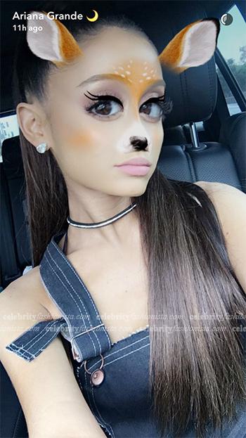 Ariana Grande Snapchat — Hannah Jinkins Denim Dungarees