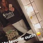 LeAnn Rimes Instagram Story — Wildfox Naked In The Moonlight Sweatshirt