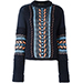 Versace Oversize Stitch Knit Sweater