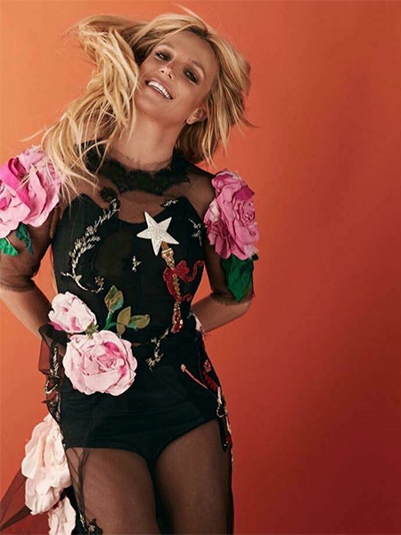 Britney Spears, Dolce & Gabbana Embellished Tulle Gown (Photoshoot)