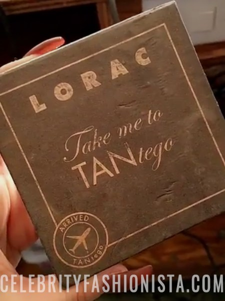 Scheana Marie, Lorac Take Me To Tantego Tantalizer Bronzer Palette (Snapchat January 2017)